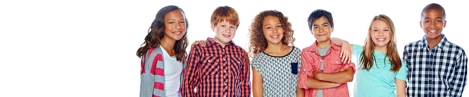 Children Smiling Smiles For Maine Orthodontics Waterville, Skowhegan, Dover-Foxcroft, & Lewiston-Auburn, ME